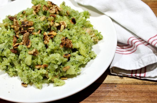Recept | Broccoli stamppot met kip