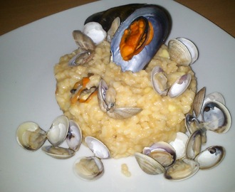 RISOTTO DE MARISCO (THERMOMIX)