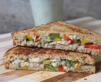 White Sauce Chicken Sandwich Recipe