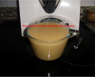 Caldo base en Thermomix