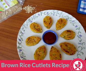 Brown Rice Cutlets Recipe