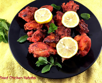 Fried Chicken Kebabs- Bangalore Empire Restaurant Style