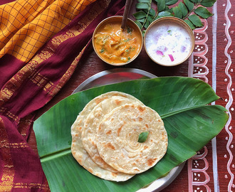Malabar Parotta | Kerala Paratha | Layered Flat Bread recipe from Kerala