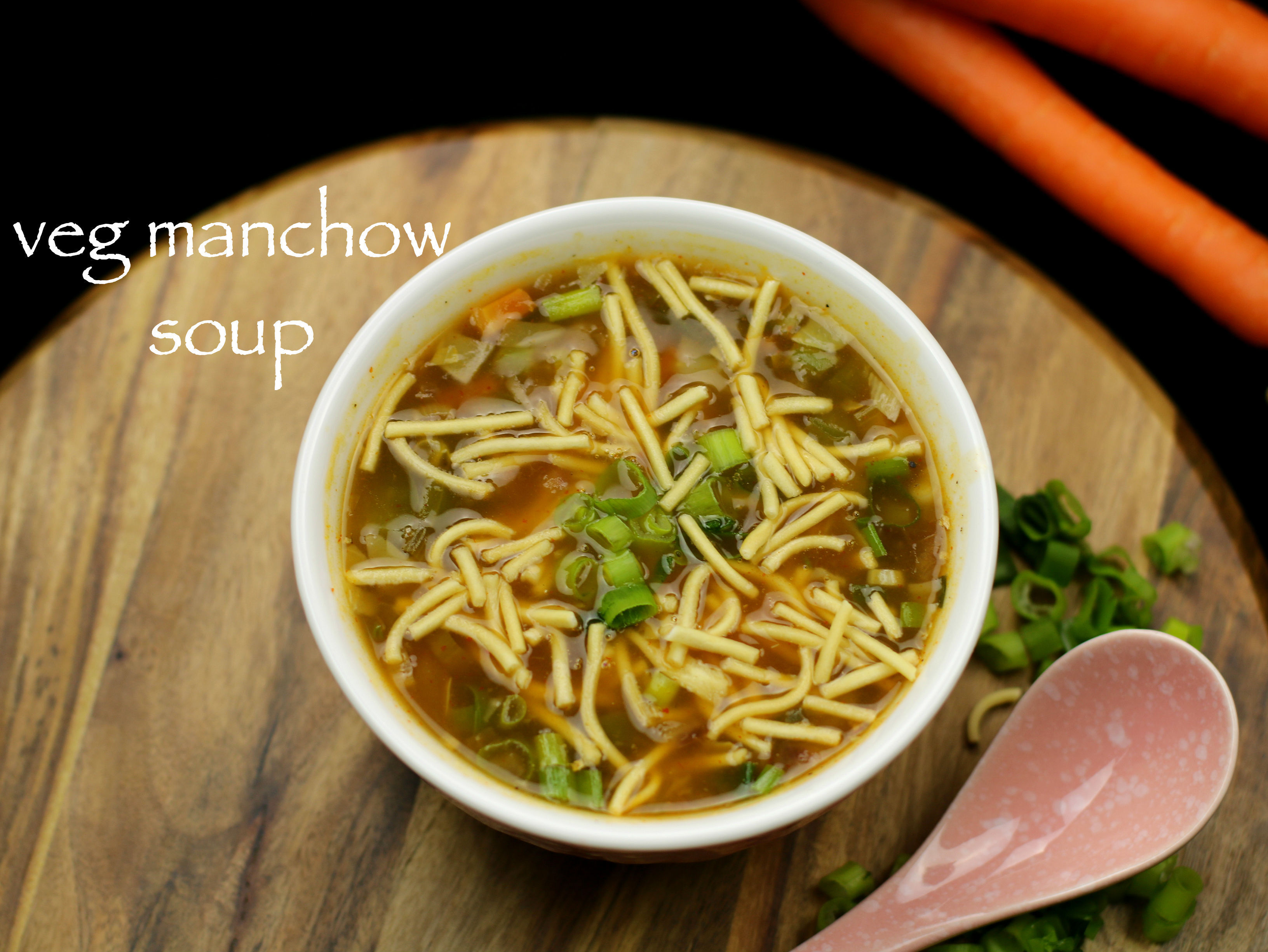 veg manchow soup recipe | vegetable manchow soup recipe