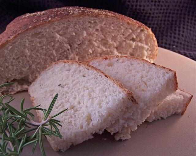 Rosemary-Parmesan Sourdough Bread