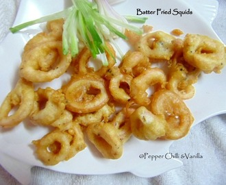 Batter Fried Squids/Calamari