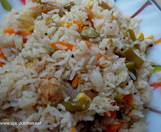 Vegetable Pulao | How to make vegetable pulao