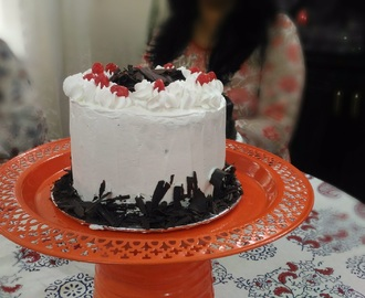 Black Forest Cake  -Vegan and Eggless