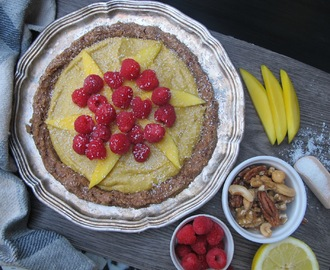 Raw Vegan Mango/Coconut Pie