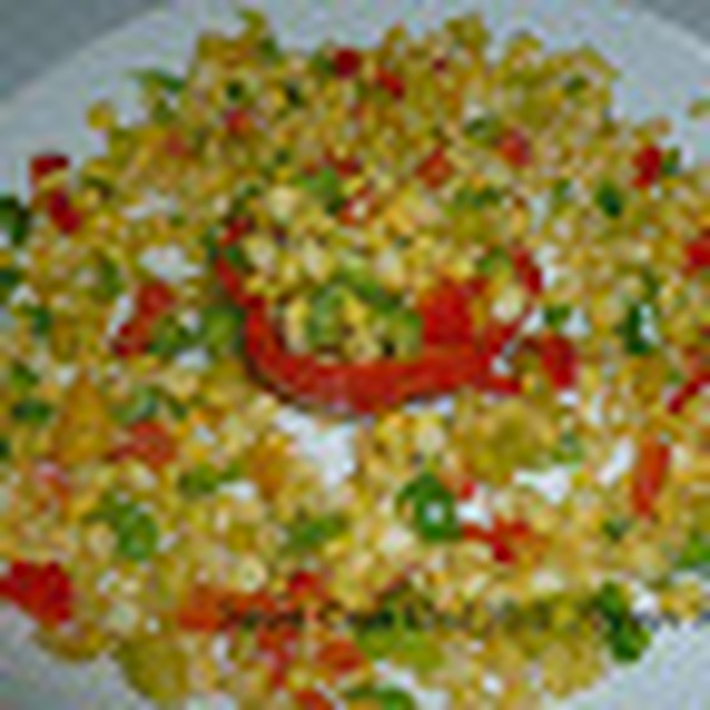 Sweet Corn And Bell Pepper Salad