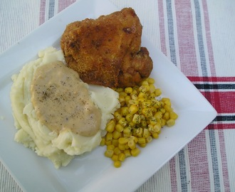 Crazy Cooking Challenge: Pan Fried Chicken and Country Gravy