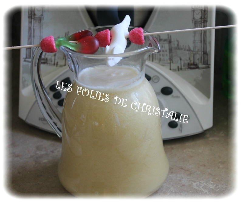 Cocktail tropical ( Thermomix)