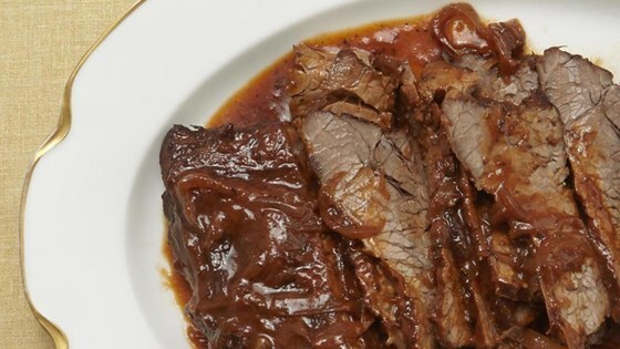 Wine-Braised Beef Brisket