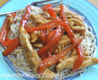Honey Chicken with Cashews – Weight Watchers 8 PointsPlus
