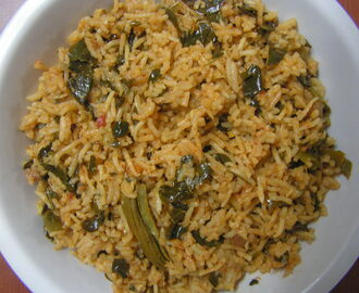 Drumstick Greens Rice