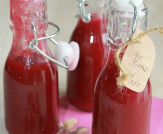 Sirop de framboise, litchi et rose, Battle food n°20