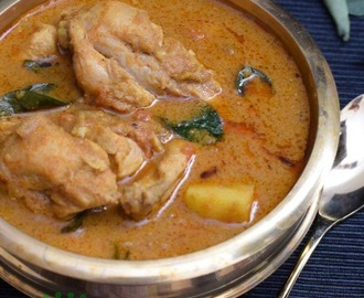 Naadan Varutharacha Chicken Curry