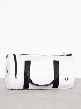 Fred Perry Twin Tipped Barrel Bag Väskor Snow White