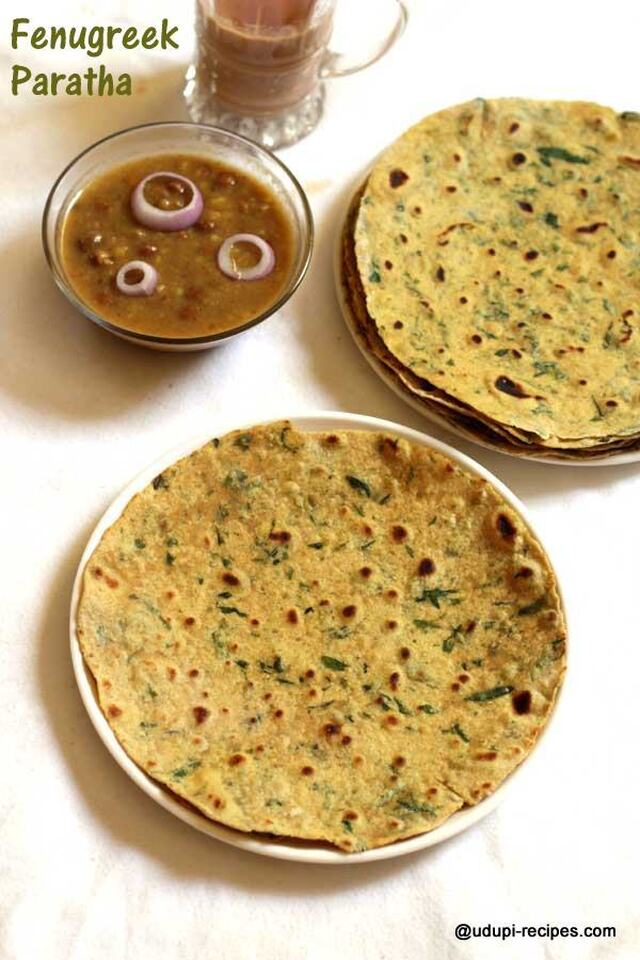 Fenugreek Leaves Paratha | Methi ki Paratha