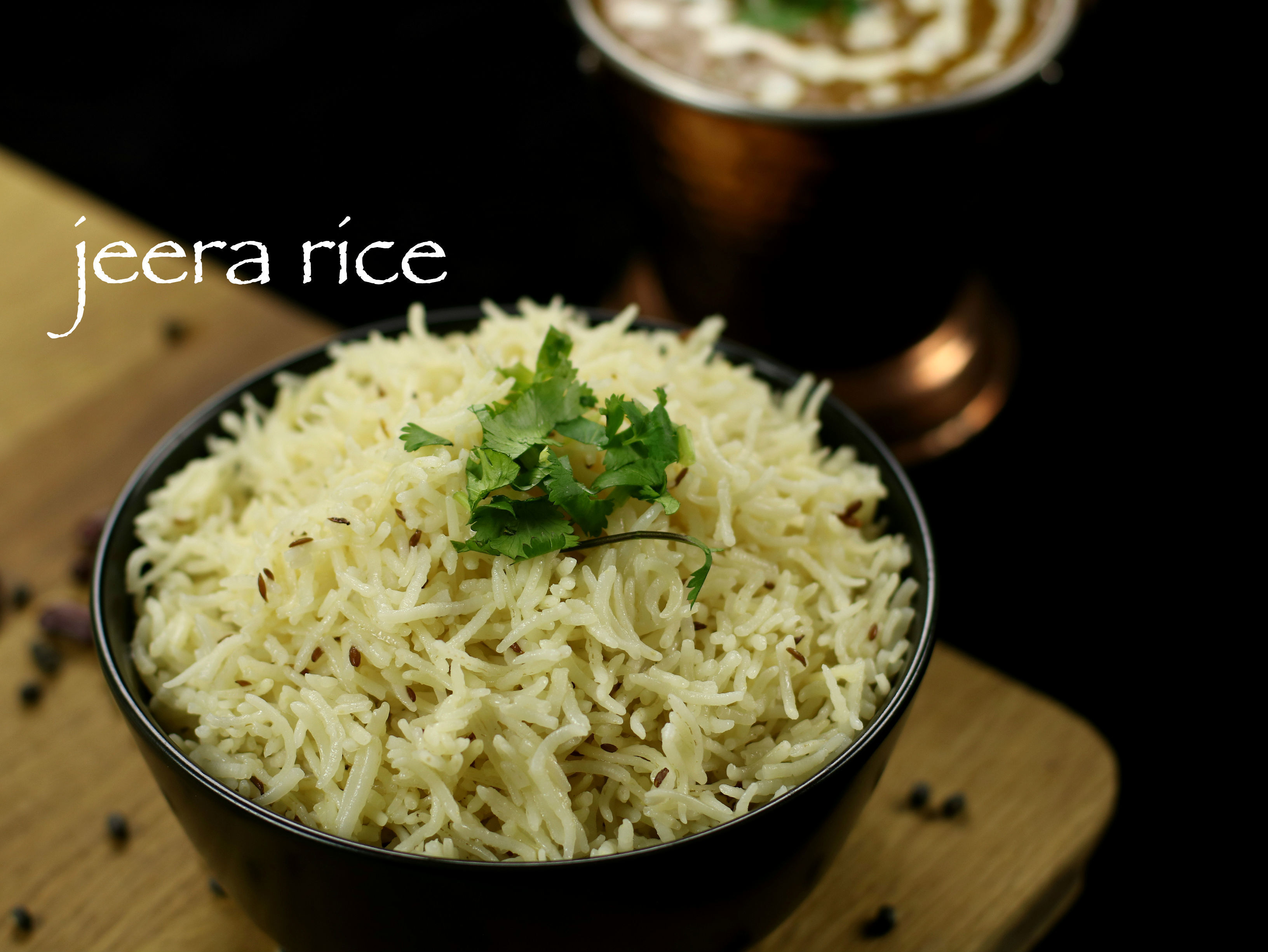 jeera rice recipe | jeera pulao recipe | steamed zeera rice