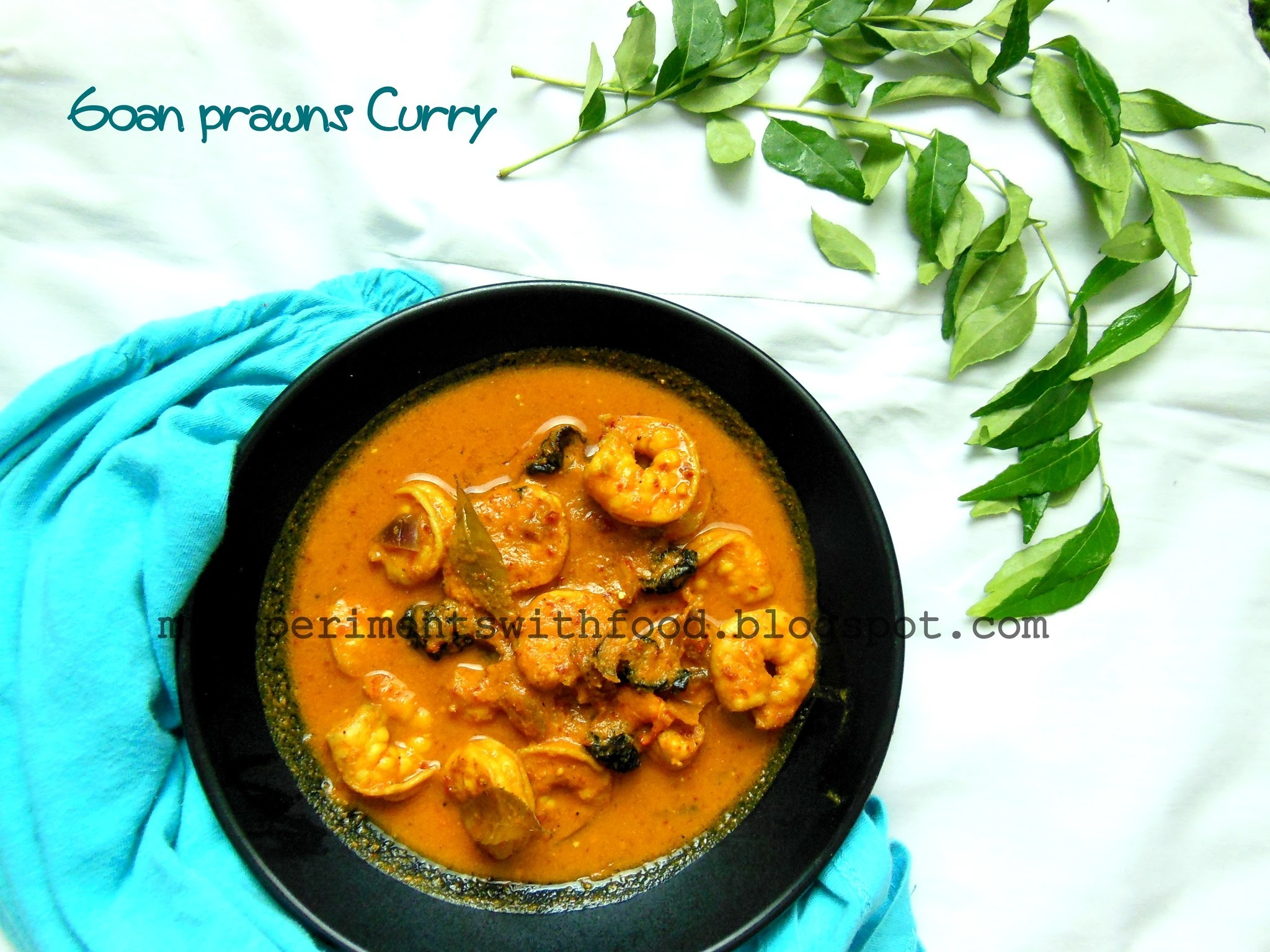 Goan Prawns Curry with Coconut Milk