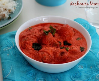 Kashmiri Dum Aloo | Vegetarian Curry | Kashmiri Cuisine | Potato in Yogurt Gravy | Flavour Diary