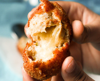 Chicken Cheese Balls Recipe, Cheesy Chicken Balls