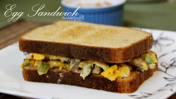 Egg cheese sandwich Recipe | Indian Breakfast Recipes – Healthy Recipe – Indian Food