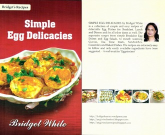 A Few Quick Serving Ideas using Eggs from my Recipe Book SIMPLE EGG DELICACIES