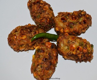 Corn and Potato Kabab (Kebab) #MonsoonMojo2