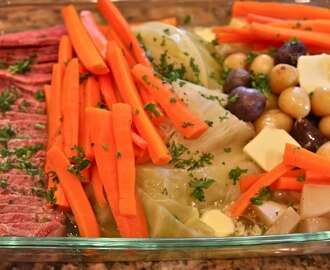 St. Patrick's Day Corned Beef Dinner