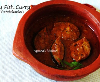 FISH RECIPES - FISH PATTICHATH / SPICY FISH GRAVY