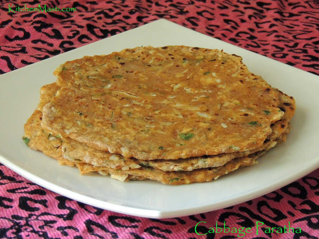 Cabbage Paratha Recipe