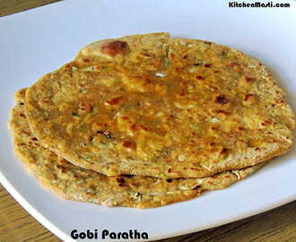 Gobi Paratha / Cauliflower Parantha Recipe