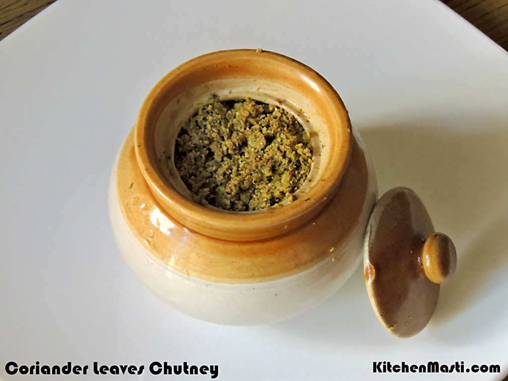 Coriander Leaves Chutney Recipe