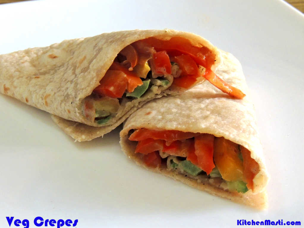 Vegetable Crepes Recipe