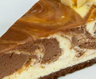 Cheesecake com Queijo Creme e Chocolate