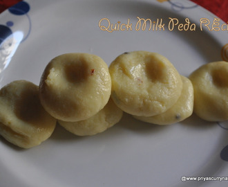 Milk Peda or Doodh peda Recipe,how to make Instant Milk powder pera recipe