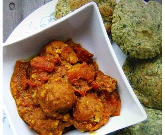 Aloo Kofta – Potato croquettes in spicy tomato gravy