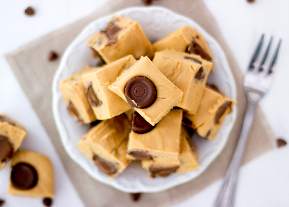 4 Ingredient Rolo Caramel Fudge