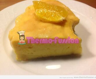 FLAN DE MANDARINA O NARANJA THERMOMIX Y FUSSIONCOOK TOUCH ADVANCE O FUSSIONCOOK PLUS+
