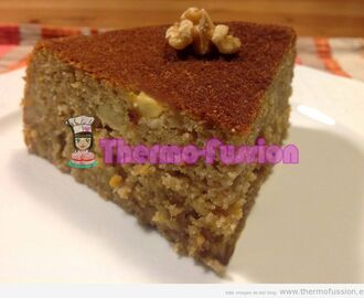 BIZCOCHO INTEGRAL DE FRUTA Y NUECES THERMOMIX Y FUSSIONCOOK TOUCH ADVANCE O FUSSIONCOOK PLUS+