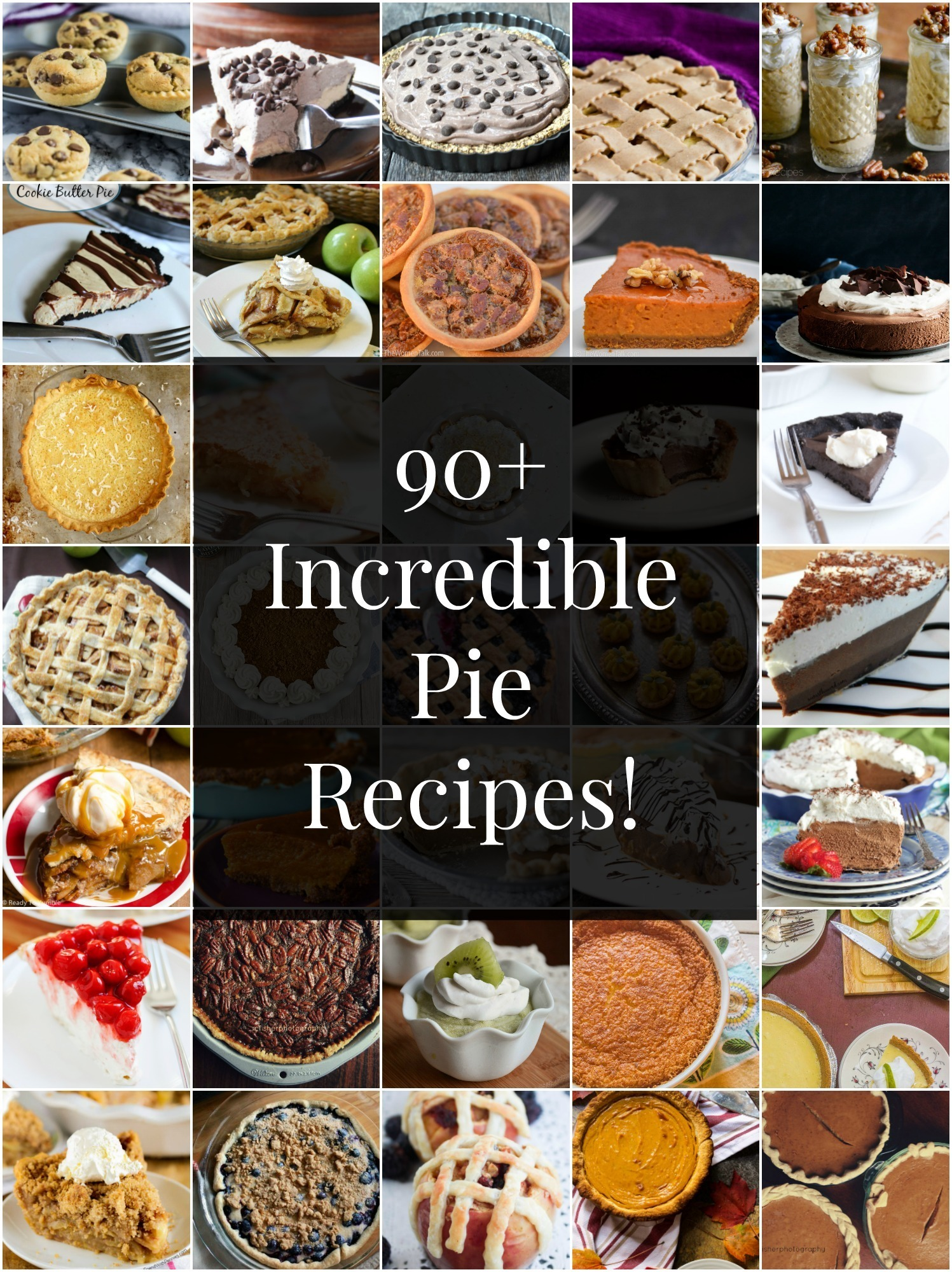 90+ Pie Recipes To Make Your Holidays Sweet