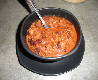 Easy Home Style Chili