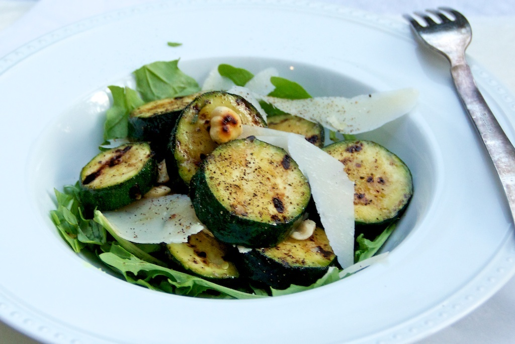 Zucchini and Hazelnut Salad