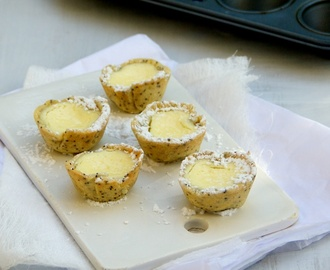 Lemon Poppyseed Cheesecakes