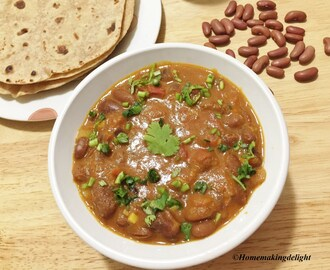 Rajma Masala Recipe – Red Kidney Beans Gravy Recipe