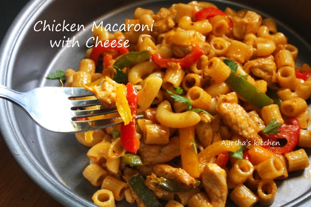 CHICKEN PASTA RECIPES - RECIPE FOR MACARONI AND CHEESE / MAC & CHEESE RECIPE