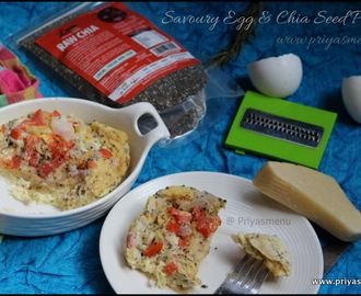 Savoury Egg & Chia Seed Pudding / GoIndiaOrganic Food Product Review