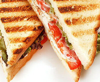 Grilled Vegetable and Provolone Sandwiches